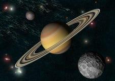 Saturno royalty illustrazione gratis