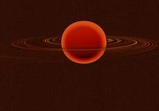 Saturno Imagen de archivo libre de regalías