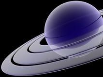 Saturno Fotografia de Stock