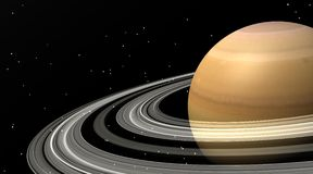Saturnus Royalty-vrije Stock Fotografie