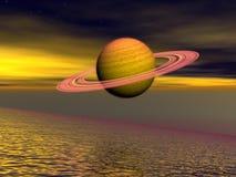 Saturnus Stock Afbeeldingen