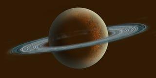 Saturnus Imagen de archivo libre de regalías