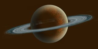 Saturnus Imagem de Stock Royalty Free