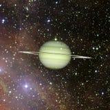 saturnus Elementen van dit die beeld door NASA wordt geleverd stock illustratie
