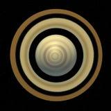 Saturnus planet from top Stock Photos