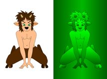 Satyr Royalty Free Stock Images