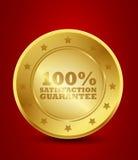 100% satysfakci gwarancja Zdjęcia Royalty Free