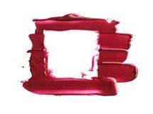 Satz Abstriche von den verschiedenen kosmetischen Produkten Stockfotografie