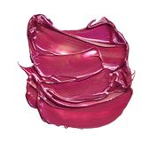 Satz Abstriche von den verschiedenen kosmetischen Produkten Stockbild
