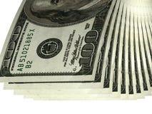 Satz Banknoten Stockbild