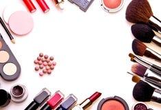 Satz Berufskosmetik Lizenzfreies Stockfoto