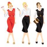 Satz der Berufsfrau Lizenzfreie Stockfotos