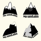 Satz des Berges Stockbild