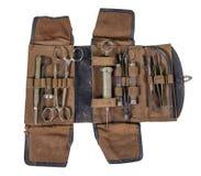 Satz des chirurgischen Instruments Stockfotos