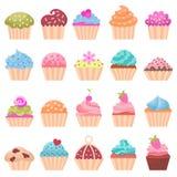 Satz des kleinen Kuchens stock abbildung