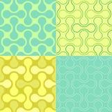 Nahtloses Puzzlespiel-Tapeten-Muster Lizenzfreies Stockfoto