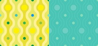 Nahtloses Farbetapeten-Muster Stockfotos
