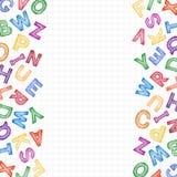 Satz des Schulzeichens und -symbols Stockbild