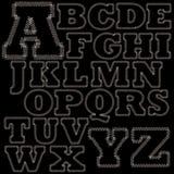 Satz des Stich-Alphabetes vektor abbildung