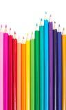 Satz farbige Bleistifte Lizenzfreie Stockbilder