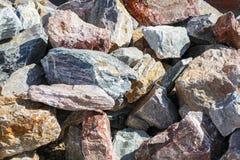 Satz Felsen Stockbilder