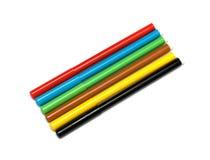 Satz Filzstifte von verschiedenen Farben Lizenzfreies Stockfoto