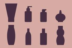 Satz Flaschen Lizenzfreie Stockfotos