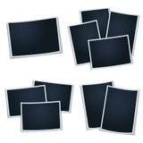 Satz Fotos (Rahmen) Stockbilder