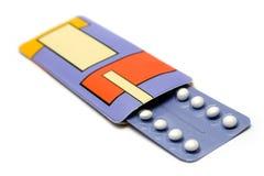 Satz Geburtenkontrolle-Pillen Lizenzfreies Stockbild