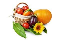 Satz Gemüse Stockfoto