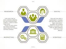 Satz Geschäfts-Ikonen lizenzfreie abbildung