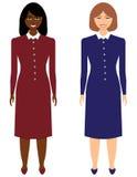 Satz Geschäftsfrauen Lizenzfreie Stockfotos