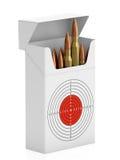 Satz Gewehrkugeln Lizenzfreies Stockfoto
