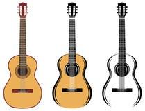 Satz Gitarren Lizenzfreies Stockfoto