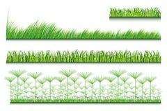 Satz Gras Stockfotografie
