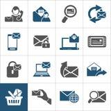 Beschriften Sie ein icon2 Stockfotos