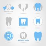 Zahn eine Ikone stock abbildung