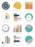Satz infographics Elemente Stockfoto