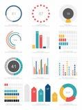 Satz infographics Elemente Lizenzfreie Stockfotos