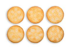 Satz Kekscracker lokalisiert auf Weiß Stockbilder