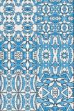 Satz Keramikfliesen - blaue Farbe vektor abbildung