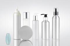 Satz kosmetische Behälter Lizenzfreies Stockbild