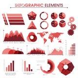 Satz kreative Infographic-Elemente Stockbild