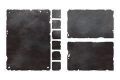 Satz metallische Elemente Lizenzfreie Stockfotografie