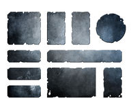 Satz metallische Elemente Stockbilder