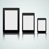 Satz mobile Geräte Stockfoto