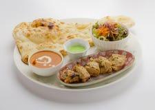 Satz Mumtaaz Kabab Huhn-malai kabab Lizenzfreies Stockfoto