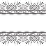 Satz nahtlose Indigomuster im Blau für Bodenfliesen, dekorative Sammlung für glasig-glänzendes keramisches Nette Vögel eingestell Stockbild