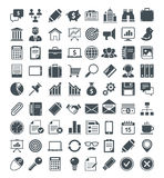 Satz nützliche Ikonen Lizenzfreies Stockbild