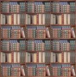 Satz Regale für Bücher stellte in eine Umfassungszarge oder in ein Kabinett ein Lizenzfreie Stockfotografie